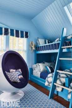blue bunk room