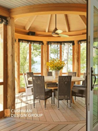 Five Essential Elements for a Home that Nurtures the Spirit: Mile Point porch