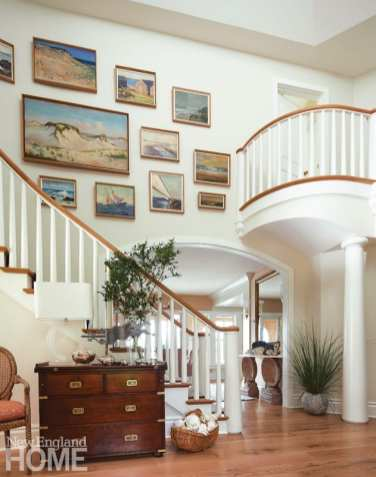 Generation Next on Cape Cod staircase