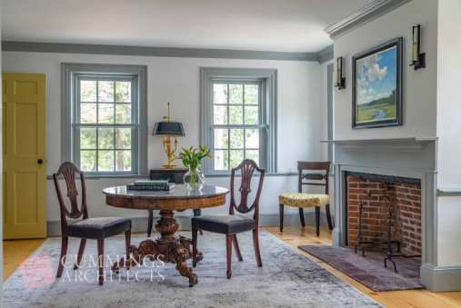 renovating a historic home dining area