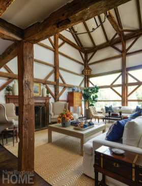 contemporary and modern in wilton living area