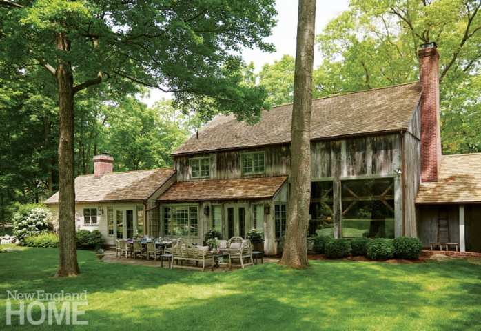 contemporary and traditional in wilton