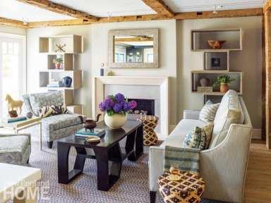 nesting in rowayton living room