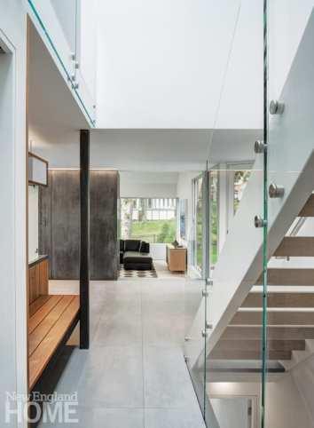 minimalism connecticut entryway