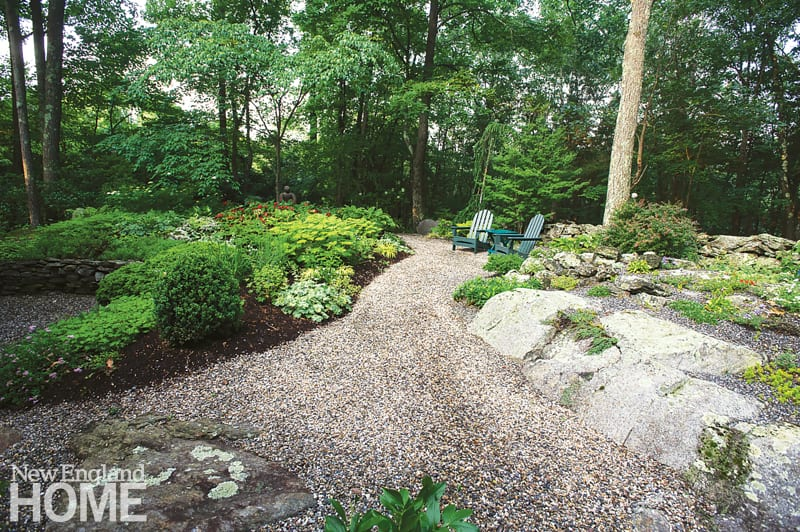 ways to invite nature into your landscape pathway