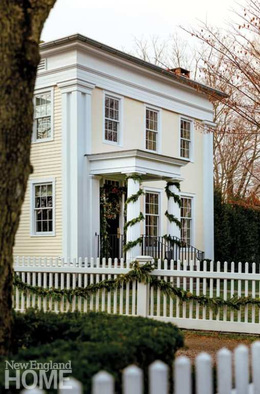 connecticut country house exterior