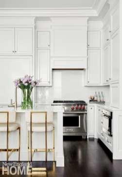 boston brownstone roof deck kitchen
