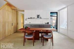 modern beacon hill kitchen