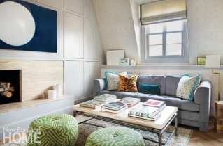 beacon hill apartment sitting area