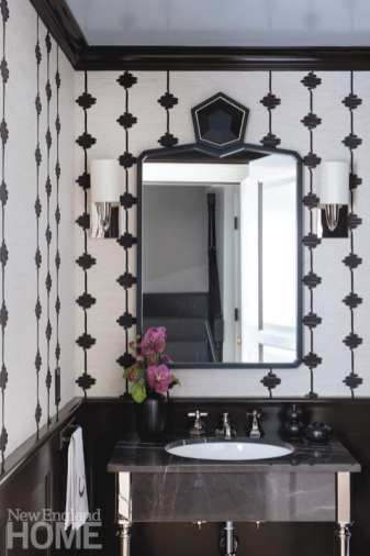 beacon hill apartment powder room