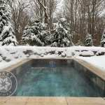 Plunge Pool New England winter