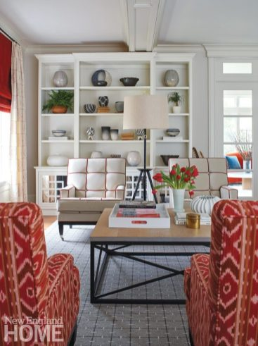 bright and bold ikat chairs