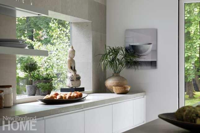 Mar Silver's Home kitchen buddha
