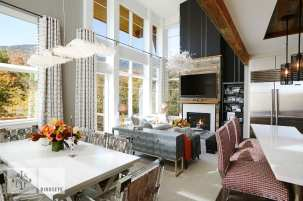 small-space design dining and living
