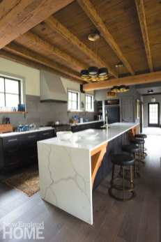 Beverly Farms carriage house kitchen