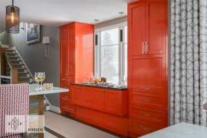 small-space design counter raised