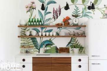 Jess Cooney kitchen mural