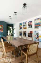Jess Cooney art wall