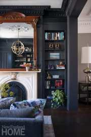 rutland square brownstone fireplace