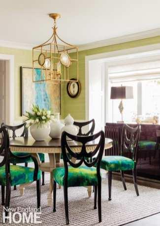 Andover condo dining room