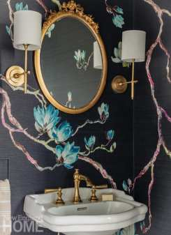 Andover condo powder room