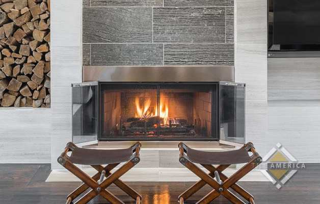 choosing tile fireplace
