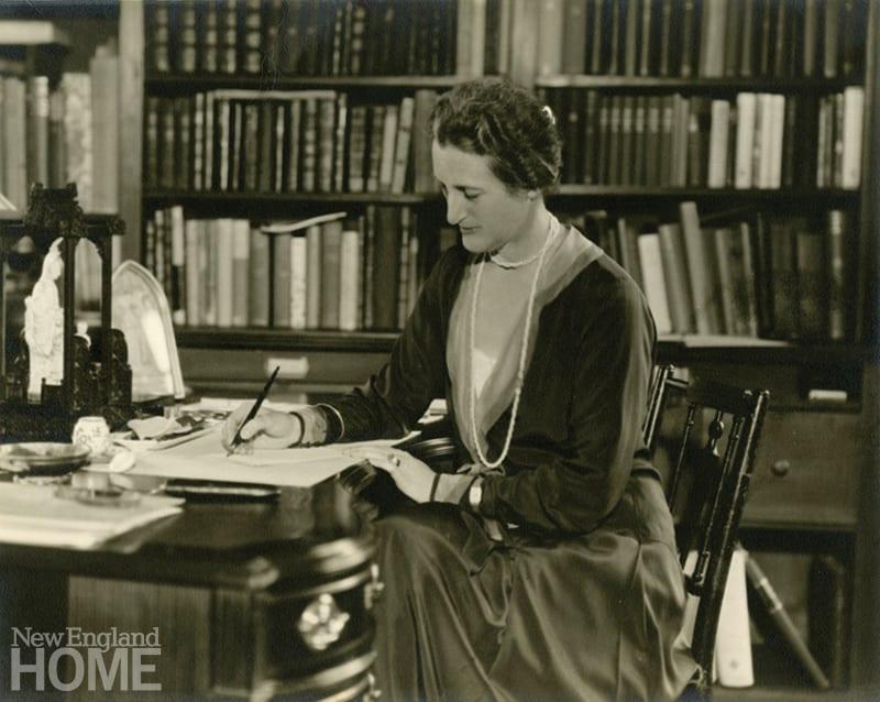 Beatrix Farrand writing letter
