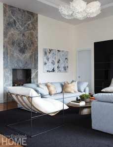 katie frazier living room fireplace