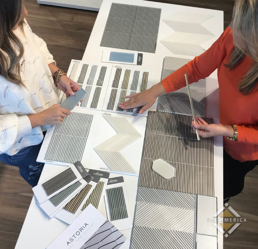 choosing tile options