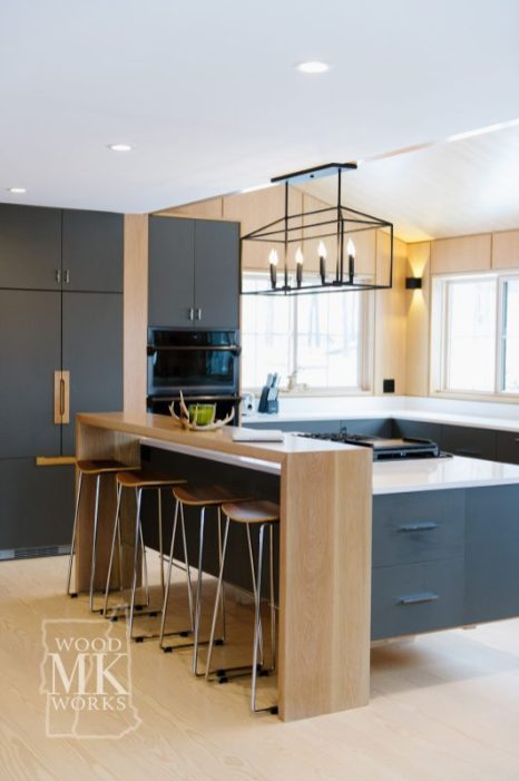 ways to modernize custom cabinets black cabinets