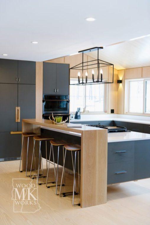 ways to modernize custom cabinets black cabinets