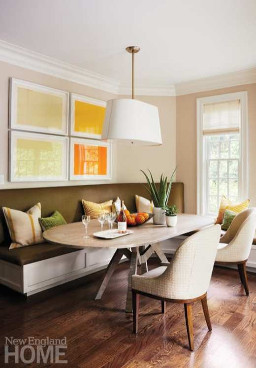 family-friendly in wellesley banquette