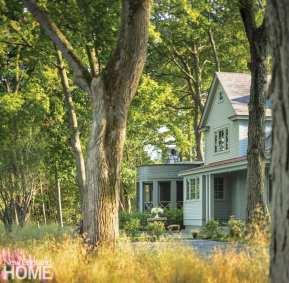 renovated vermont lake house exterior