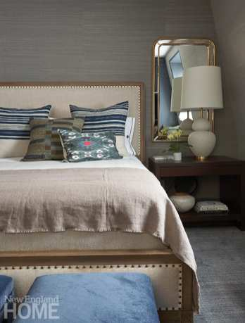 Mystic River historic home bedroom
