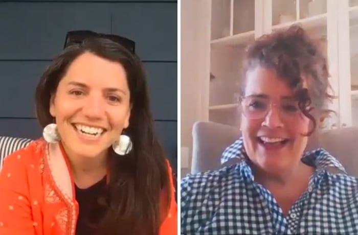 Jenna Talbott and Kathy Bush Dutton