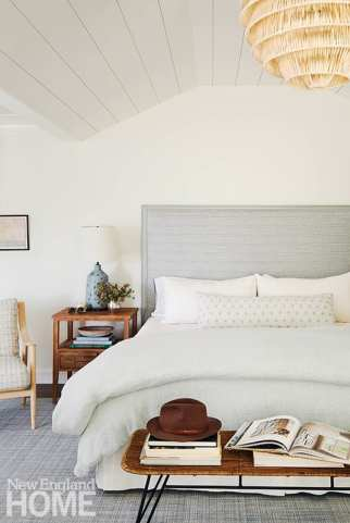 Master bedroom with neutral tones