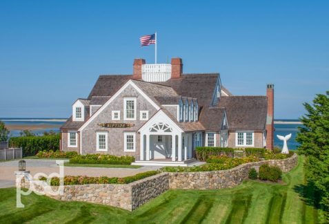 """5) Its high visibility location and a grand transformation back in the 1930's made """"Riptide"""" a Cape Cod icon. Through subsequent additions and alterations, including a recent renovation by PSD, it has remained iconic ever since."""