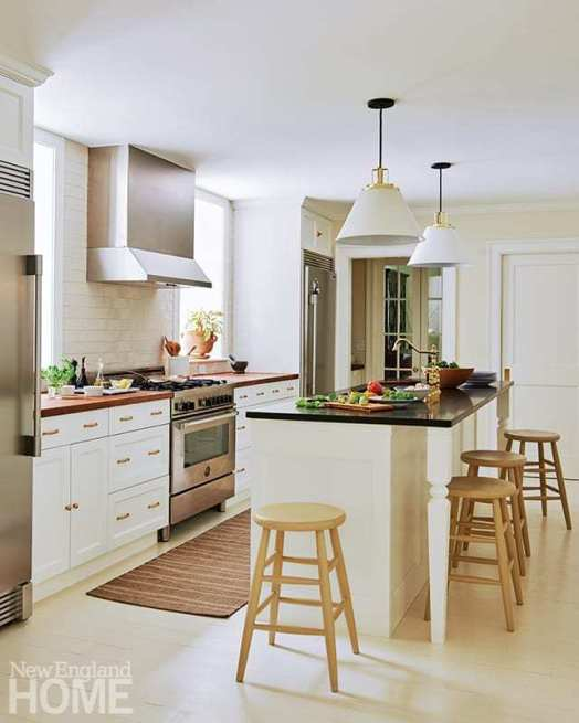 Puiia's plan included doubling the size of the kitchen, which he carefully crafted to avoid looking too new.