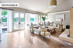 Patterned Wood Flooring is On Trend