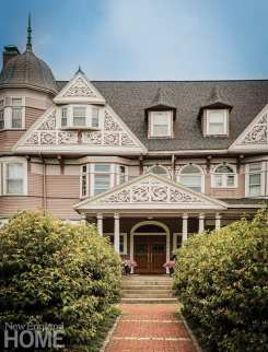 Built in 1895, the grand Queen Anne Victorian (and former all-girls Catholic school) retains its original architectural splendor, outside and in.