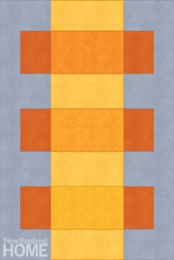 Sunlight carpet by Liz Roache for Pierre Frey.
