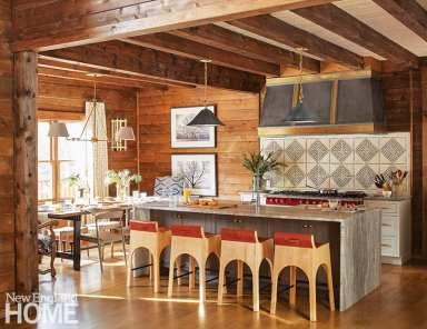 rustic kitchen w
