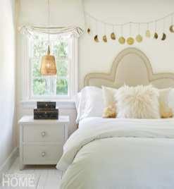 Guest bedroom in neutrals.