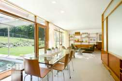S + H Construction_midcentury modern_ Dining Area