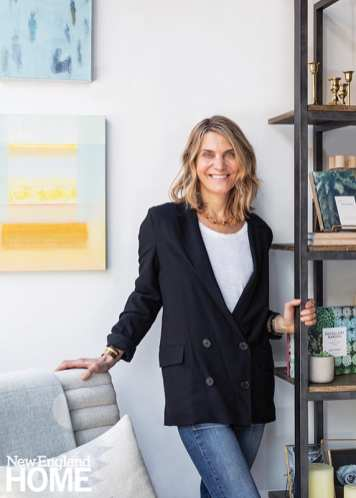 Owner and creative director Sarah Baroni Phaneuf draws her influence from Cape Cod, where she grew up, and California, where she lived for many years.