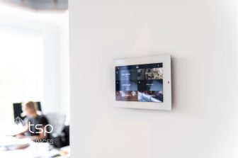 Wall controls provide you access to your customized smart home scenes at the touch of a button and give you convenient access to your home's security.