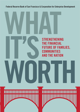 "Cover of the book, ""What It's Worth"""