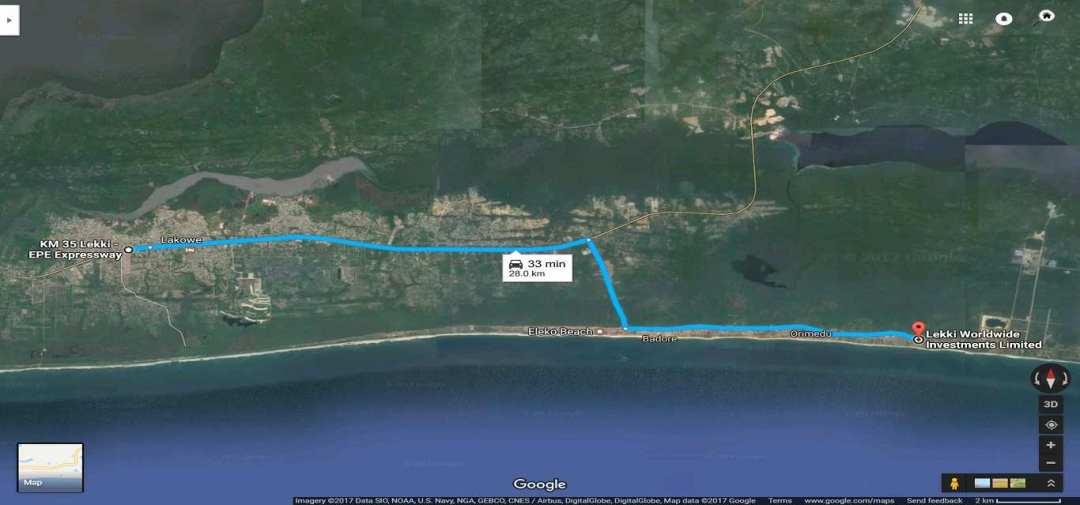 The Island Recourse Map
