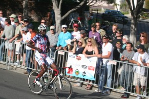 Bahati taking a convincing win at the Dana Point GP