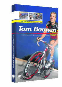 Tom Boonen - bike racer and now author